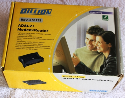 Billion 1 port ADSL2 Modem / Router - BiPAC 5112S (Refurbished)