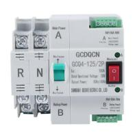 Dual-Power Automatic Transfer Switch 2P 100A...